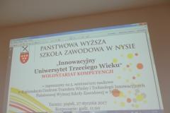 """Konferencja z cyklu """"Innowacyjny Uniwersytet Trzeciego Wieku"""""""