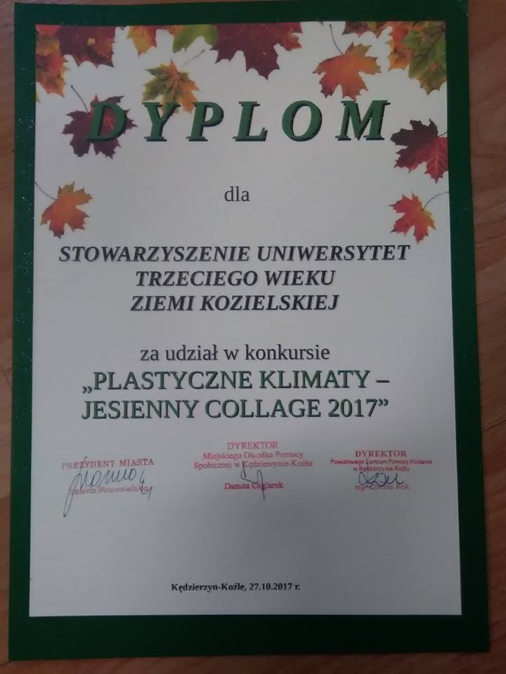 plastyczne klimaty -dyplom